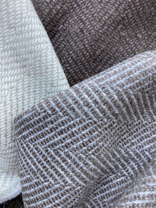 Undyed wool by Marzotto
