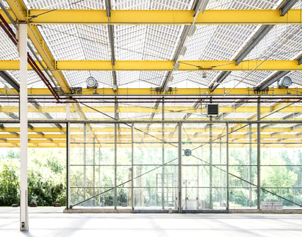 Expo Haarlemmermeer is know for its glass ceiling