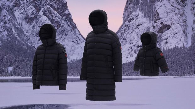 Moncler's Born To Protect jackets