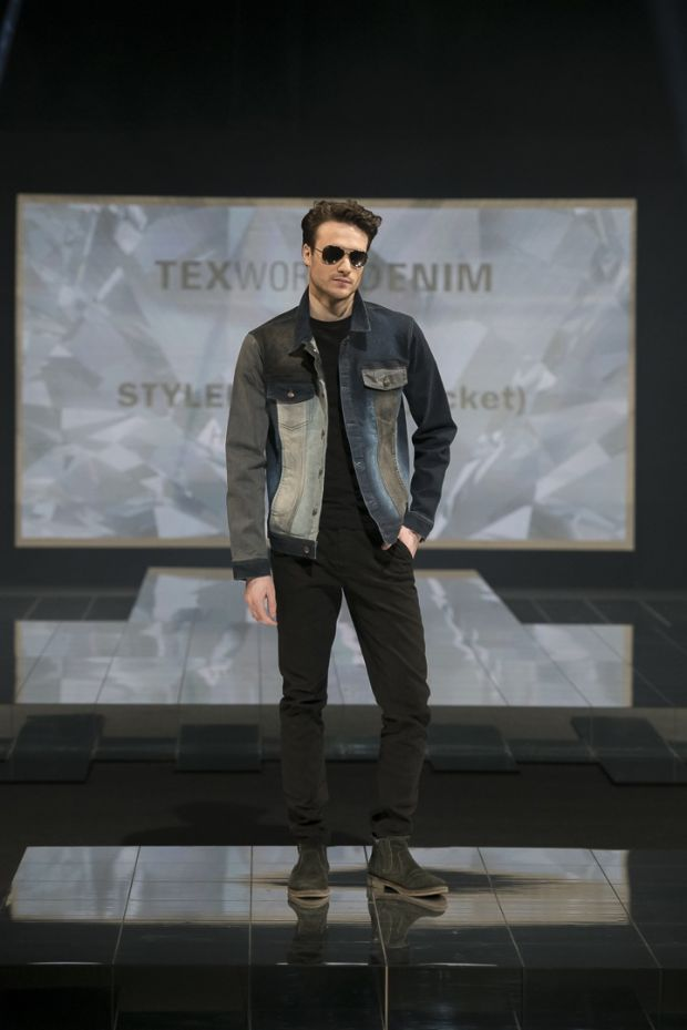 A shot from a fashion show held during Texworld Denim in Paris in February 2019