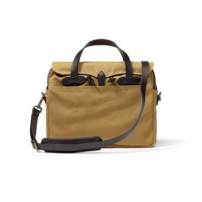 Rugged twill bag by Filson