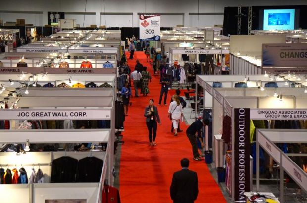 Apparel Textile Sourcing trade show in Canada