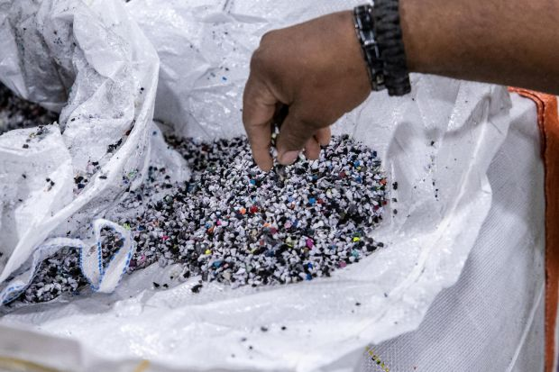 Nike Grind is Nike's material recycling program