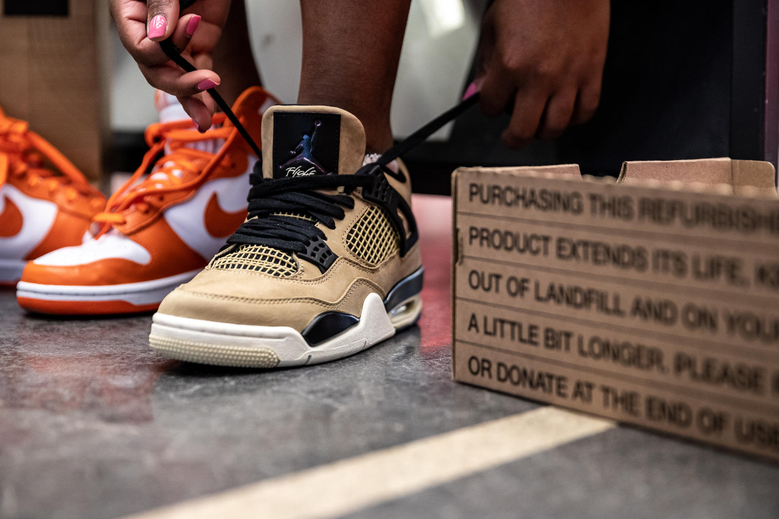 Nike enters the resale business