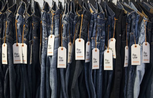 In 2020 Nudie reports to have sold 2,238 Re-Use Nudie jeans.