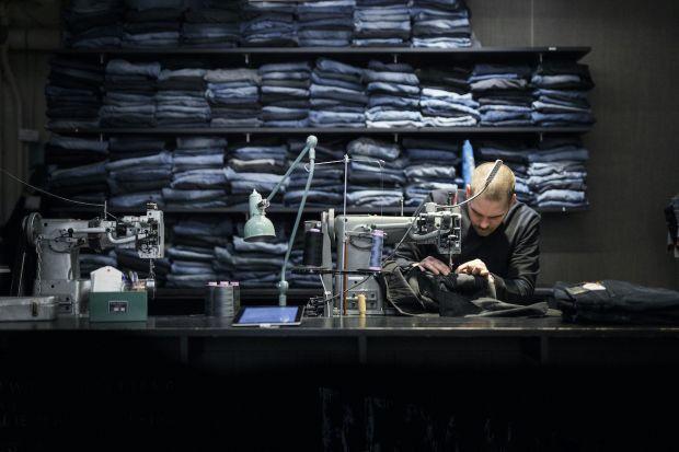 In 2020 Nudie Jeans repaired 45,900 Nudie Jeans pairs.