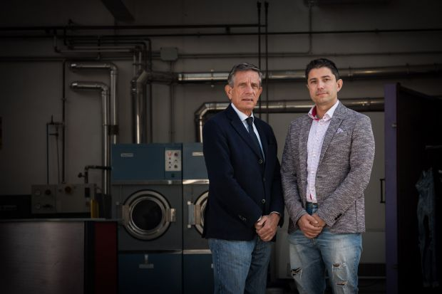 From left: Roberto and Andrea Venier, CEOs, Officina+39