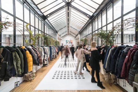 Texworld Evolution Paris - Le Showroom in February 2021
