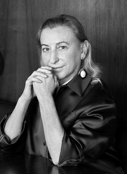 Miuccia Prada, co-owner/creative director, Prada