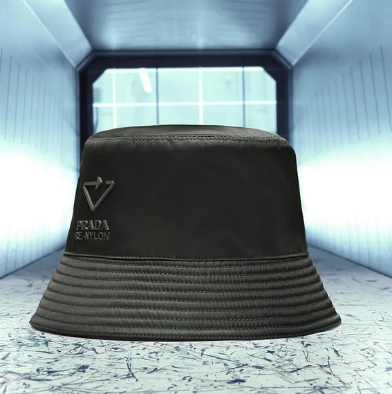 Hat of the Prada Re-Nylon line
