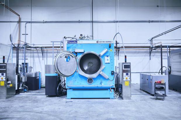 Washing facility at Saitex