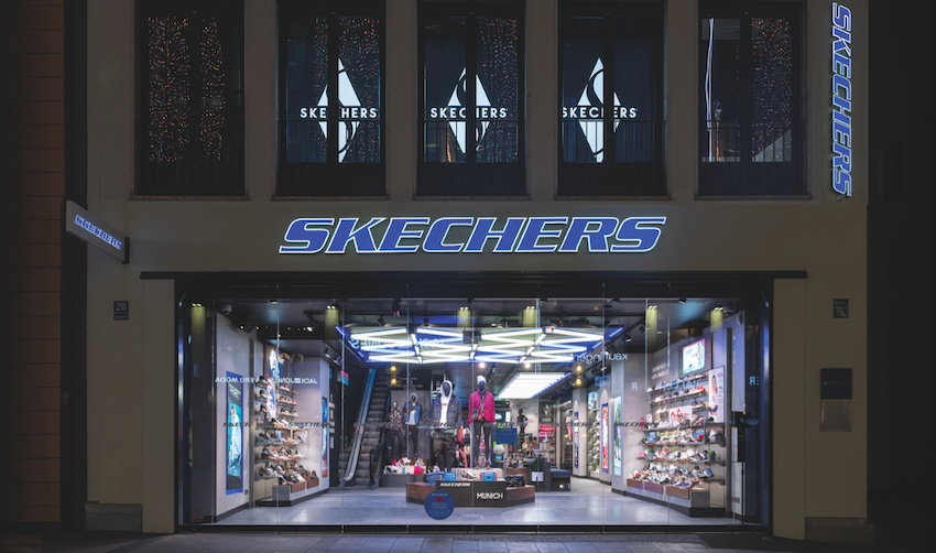 Skechers expands own retail