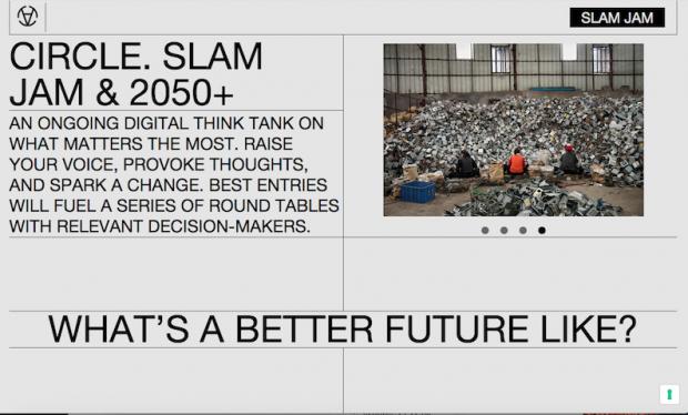 A screenshot of Circle's website