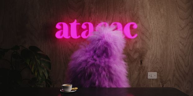 At your service – Ami is manning the Atacac web shop.
