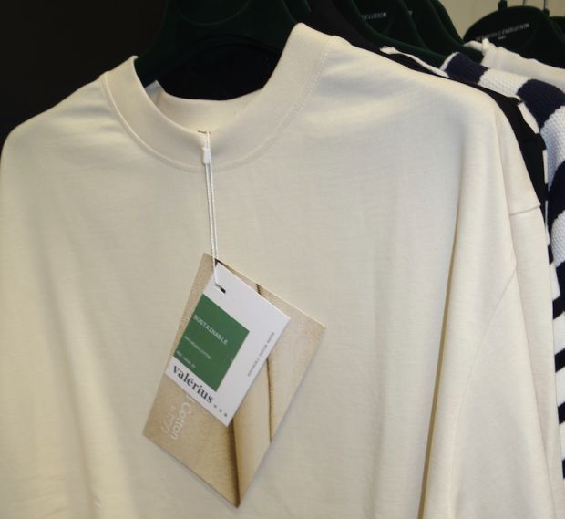 T-shirt made of recycled jersey by Valerius360