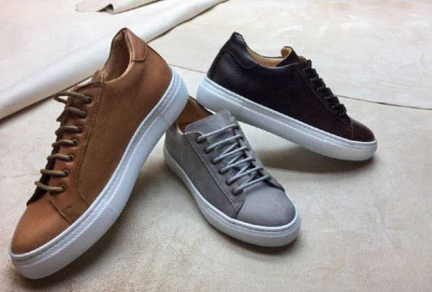 Sneakers made with Ecotan