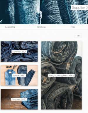 Texdome is a B2B platform that sources all fabric needs