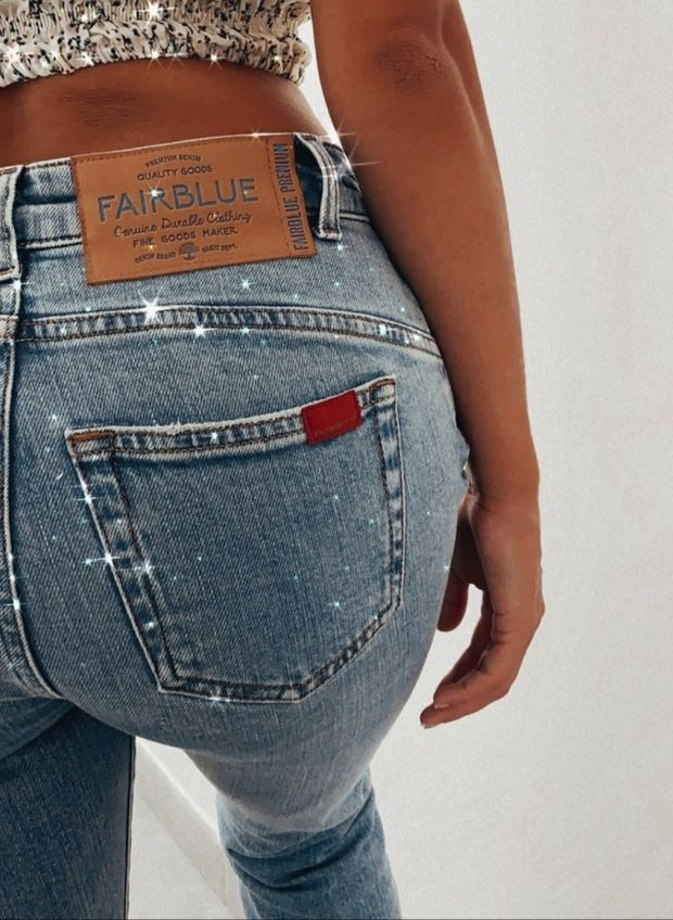 Fairblue claims to produce its jeans as sustainable as possible