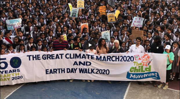 Students climate strike in Mumbai 2020