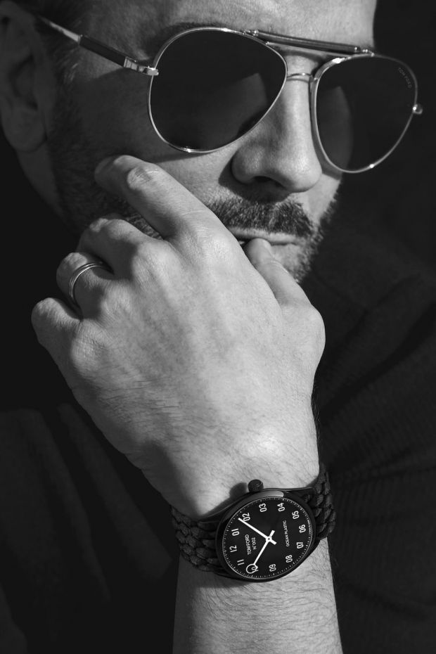 Tom Ford, designer and initiator of the Plastic Innovation Prize