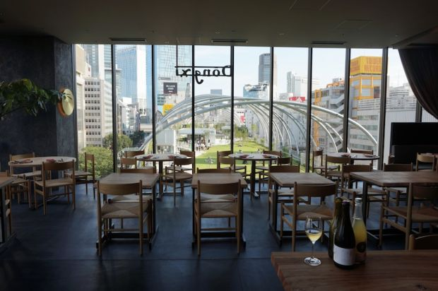 Restaurant at Miyashita Park shopping mall