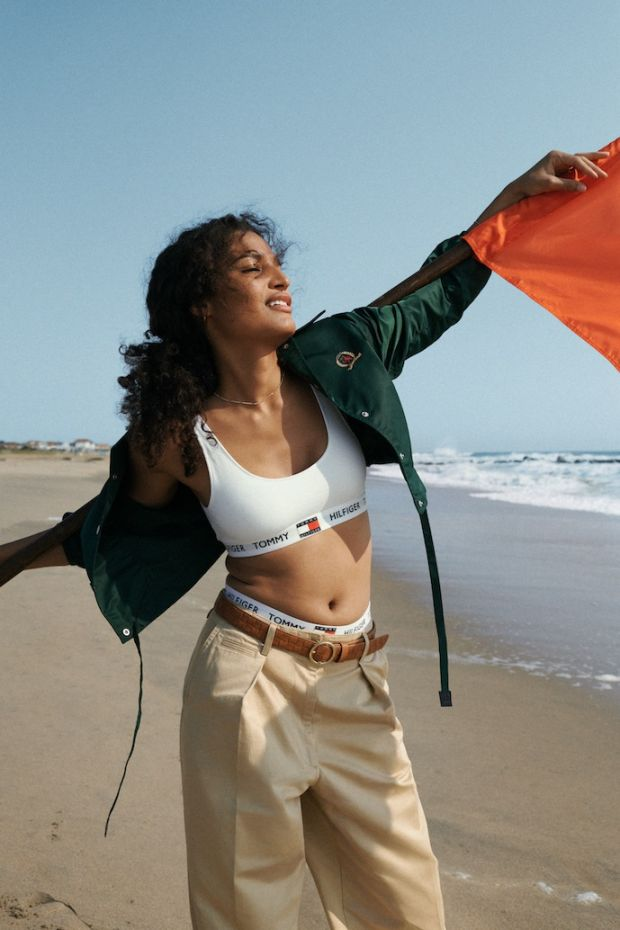 US actor, model and activist Indya Moore is also part of the campaign.