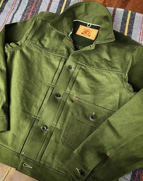 Custom denim jacket by Viapiana