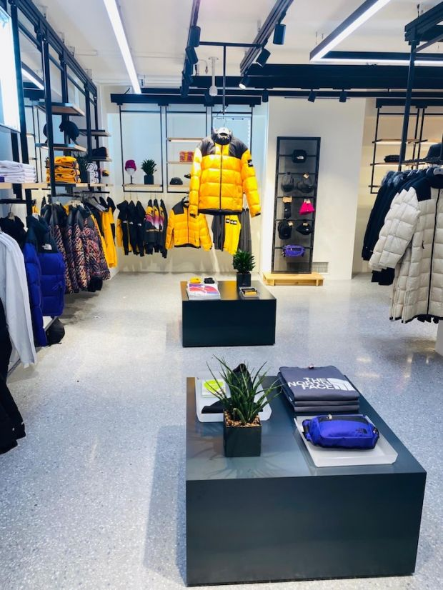 The North Face shop at Orefici 11