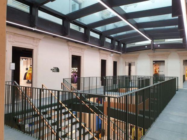 Inside Orefici 11 in Milan