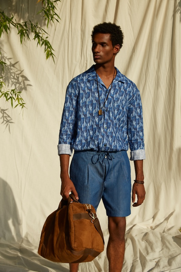 Summer look by Luca Larenza for The Rake