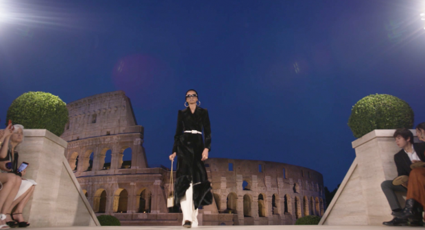 Fendi fashion show in Rome's Colosseum