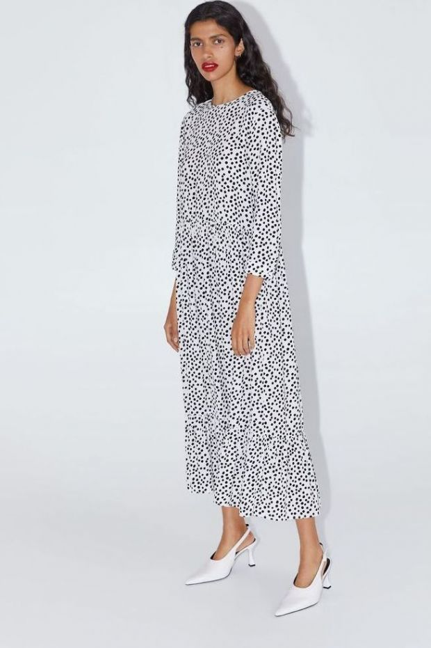The dotted dress from Zara is the most viral fashion item of the year