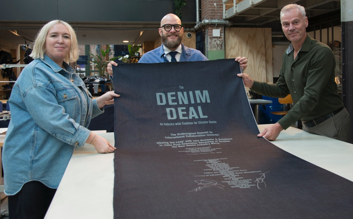 What is the 'Amsterdam Denim Deal' all about?