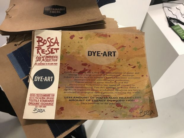 Bossa presents Dye-Art at its booth