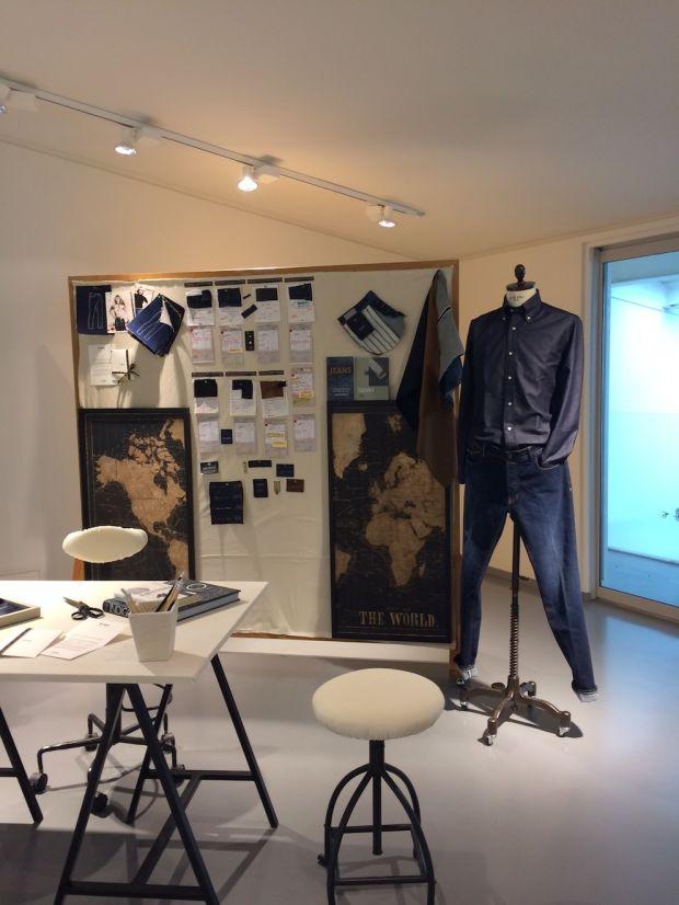 Re-Hash showroom in Milan