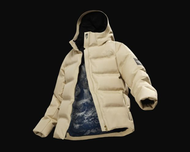 The North Face Moon Parka using Spiber fibers