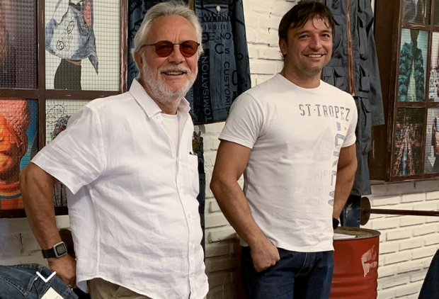 From left: Giovanni Petrin and Andrea Petrin co-founders Blue Hands