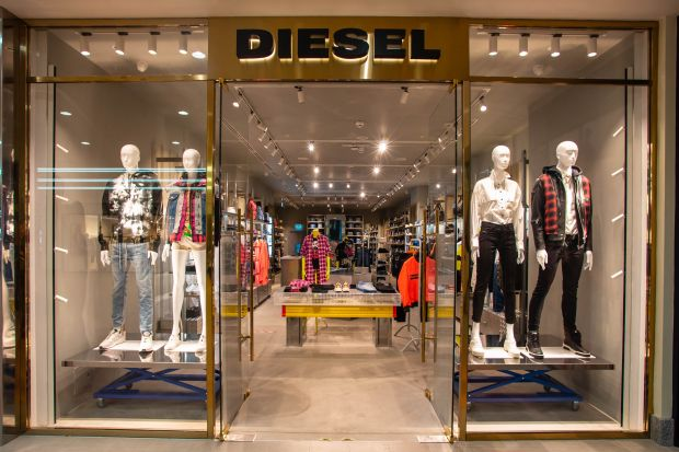 Diesel store Moscow Atrium mall