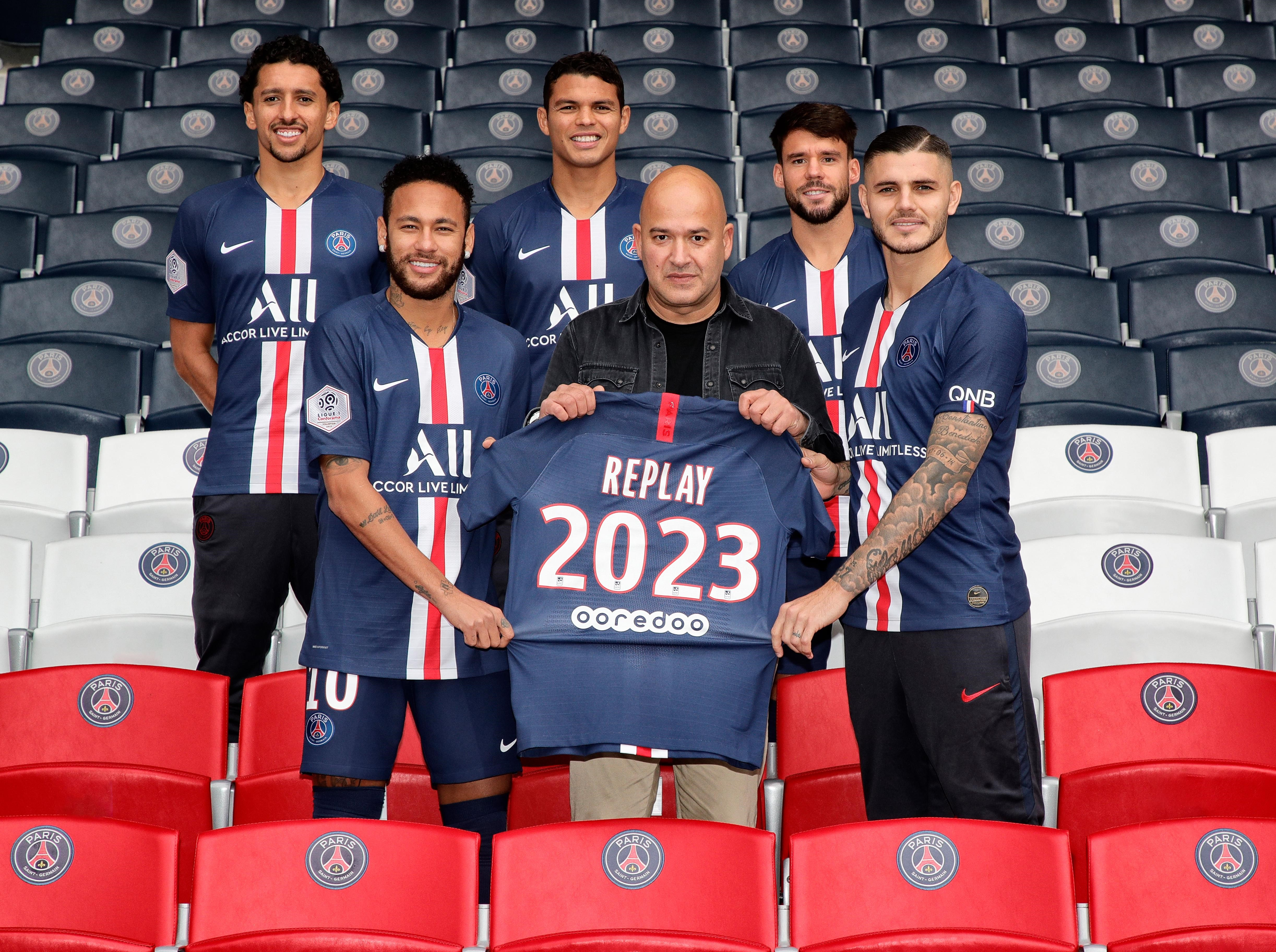 Why Replay is launching denim capsules with PSG