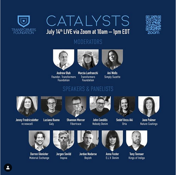 Panelists of the upcoming edition of Catalysts-Transformers Foundation