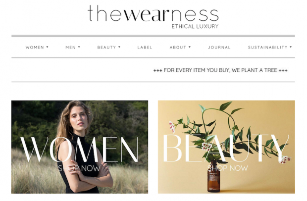 The Wearness homepage