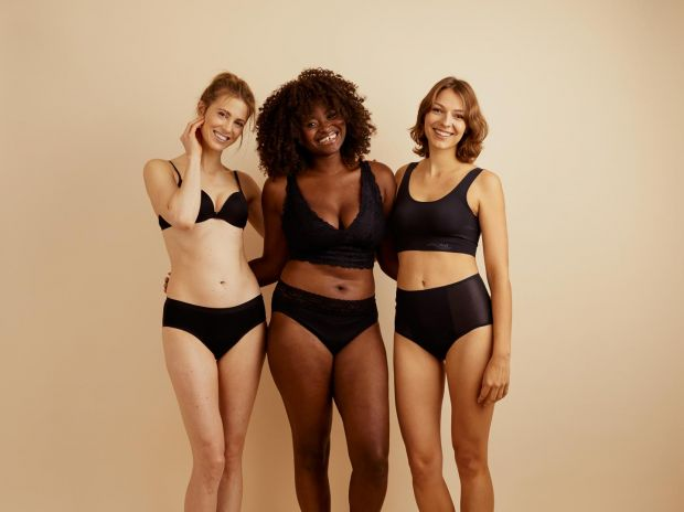 Ooia offers sustainable menstruation underwear.