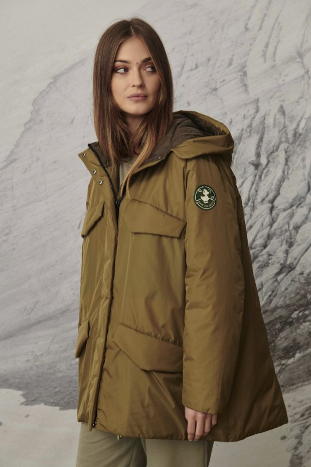 Save the Duck jacket using Amni Soul Eco fabric