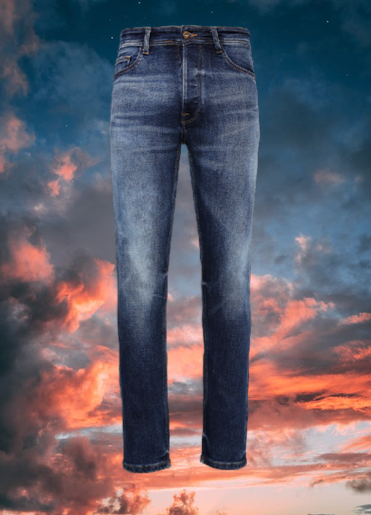 Soorty jeans treated with Smart Blue technology by Garmon