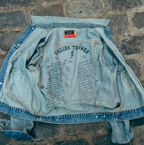 Barking Irons' Bob Dylan inspired denim jacket
