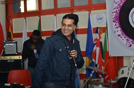 Indian hip hop artist Apache Indian