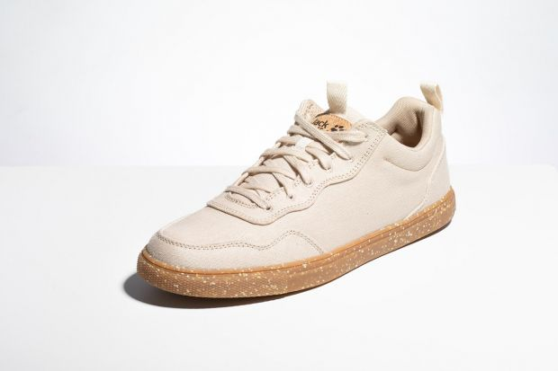 Jack Wolfskin's current product range includes Ecostride sneakers made of hemp