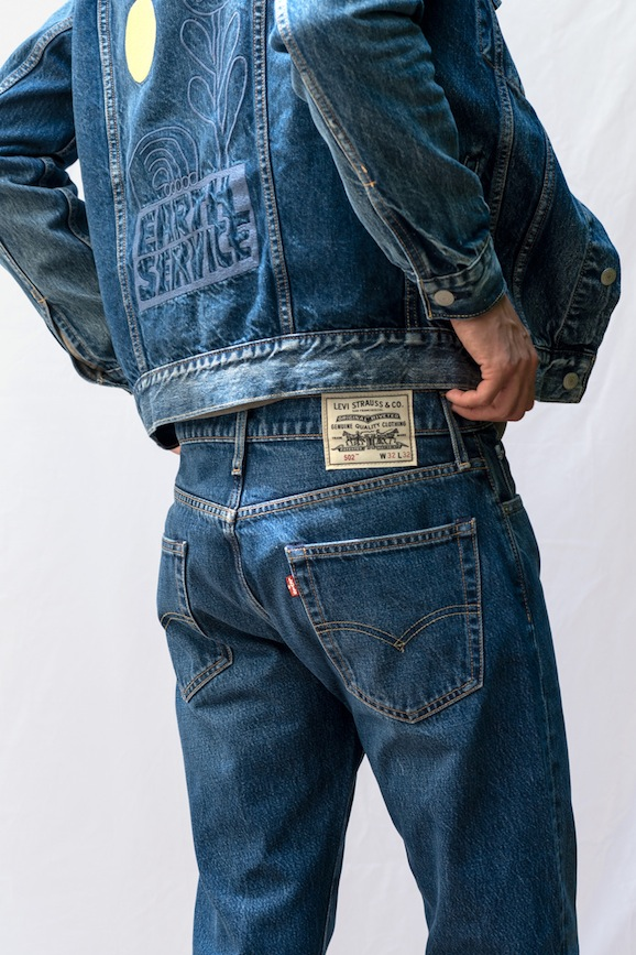 Levi's Red Tab Wellthread jeans featuring Circulose