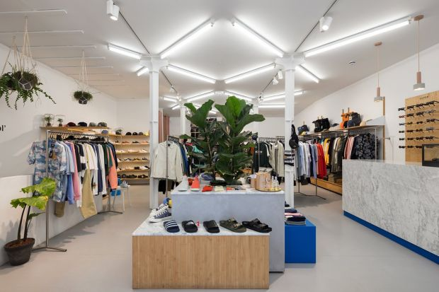Inside view of the Article. store in Spitalfields