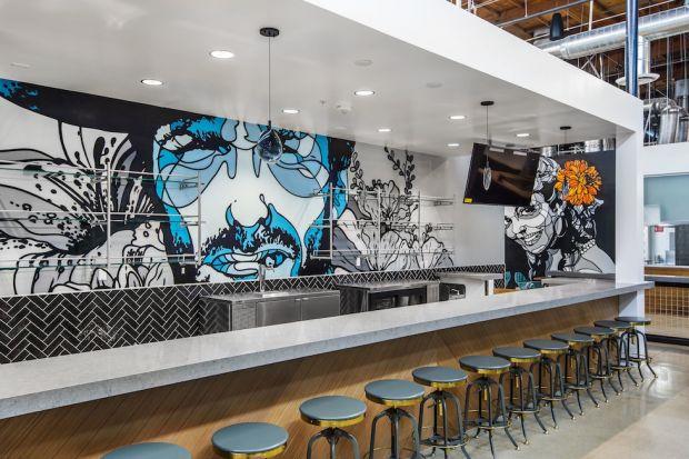 Bar inside Rodeo 39